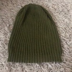 Forever 21 Accessories - Green slouchy beanie